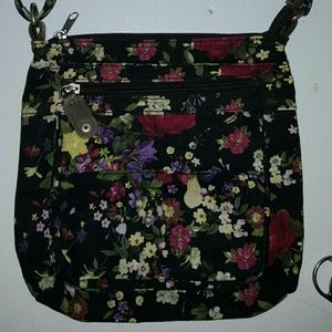 Sweet flower crossbody purse